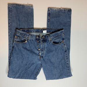 Men's Levi's 550 Button Fly Jeans W 34 L 34